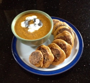 Quick Oat Bran Cakes & Home Made Soup from anewu.ie