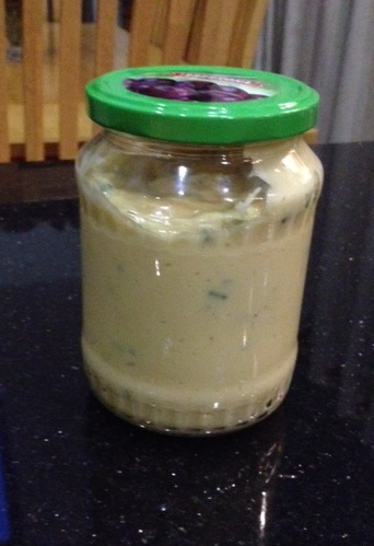 Finished Garlic&Chive Mayonnaise from anewu.ie