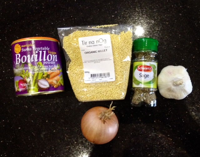 Millet Stuffing Ingredients from anewu.ie