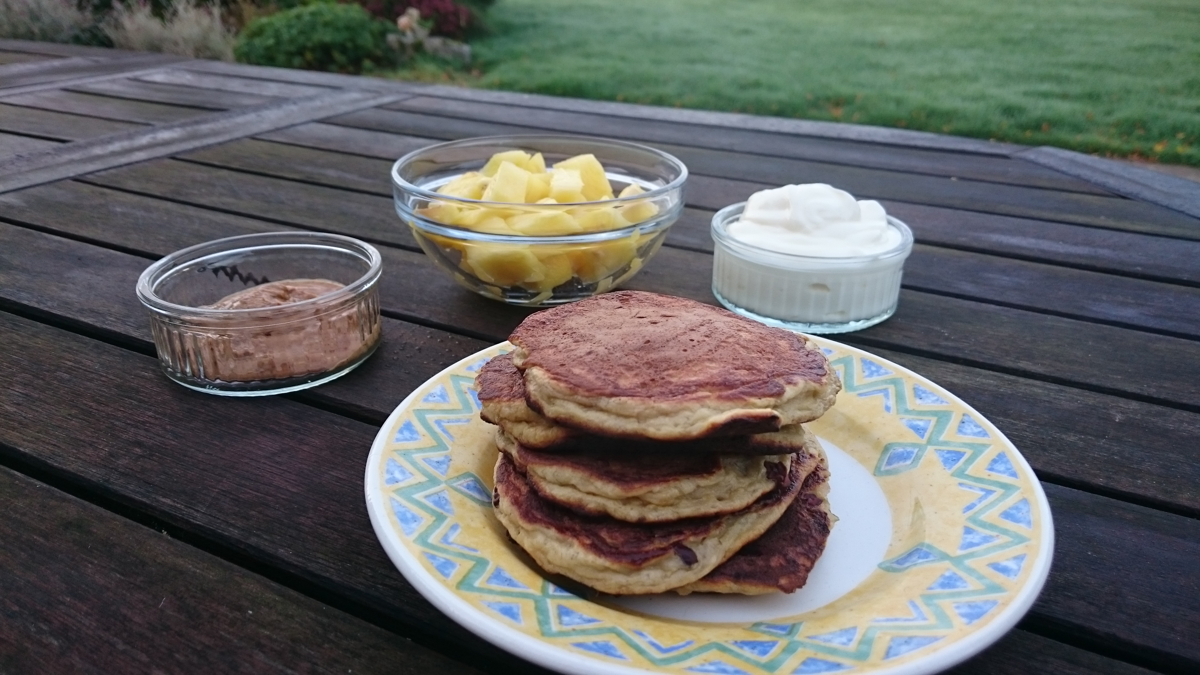 Gluten Free & Sugar Free pancakes from anewu.ie
